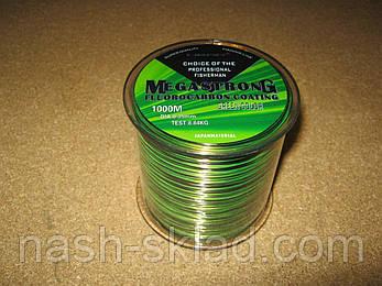 Волосінь з флюрокарбоновым покриттям Megastrong, довжина 1000 метрів, товщина 0,30, фото 2