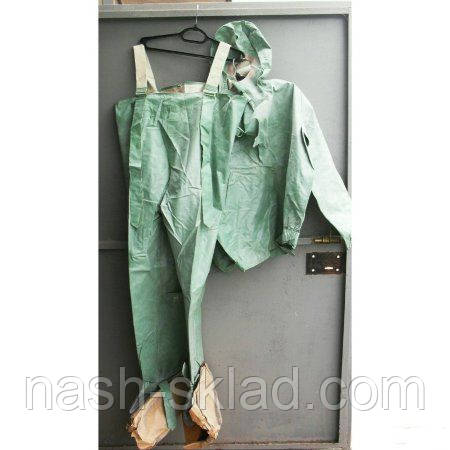 Армійський ОЗК тканина БЦК , рибальський костюм Л1, оригінал, водонепроникний, розмір 43-44