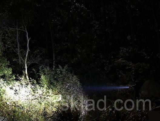 Тактический фонарик Bailong 8455S XPE, 3000W, фото 2