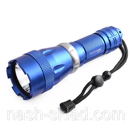 Сверхмощный подводный фонарик на 5 режимов, с аккумулятором 26650