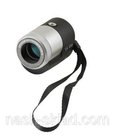 Монокуляр Bushnell 8x25 компактный и надежный, мощная оптика, отличное качество в сумерках, фото 2