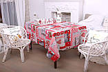 Скатерть Новогодняя 120-150 «Love», фото 4