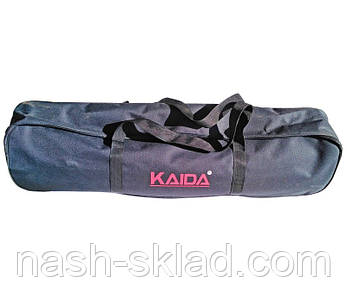 Фидерная подставка для удилищ Kaida, размещает 3 удочки, чехол в подарок, фото 2