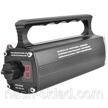 Фонарь подводный для профессионального плаванья, индикатор заряда, 3 режима, супер мощный, фото 2