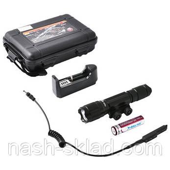 Подствольный оружейный фонарь с выносной кнопкой, зарядное устройство, фото 2