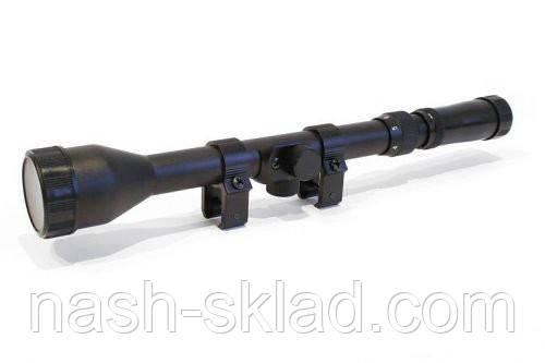 Прицел оптический 3-7x28, для пневматических винтовок