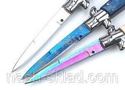 Викидний ніж стилет Піку, выкидуха з фільму Бригада, фото 3