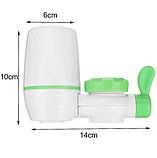 Фильтр-насадка для очистки воды на кран Zoosen Water белый, фото 2