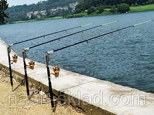 Спиннинг самоподсекающийся 2,7 метра, подарок для рыбака, фото 2