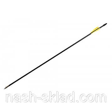 Стрела стекловолокно 80см, фиберглаcсовая  для классических и блочных луков, фото 2