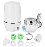 Фильтр-насадка для очистки воды на кран Zoosen Water белый, фото 3