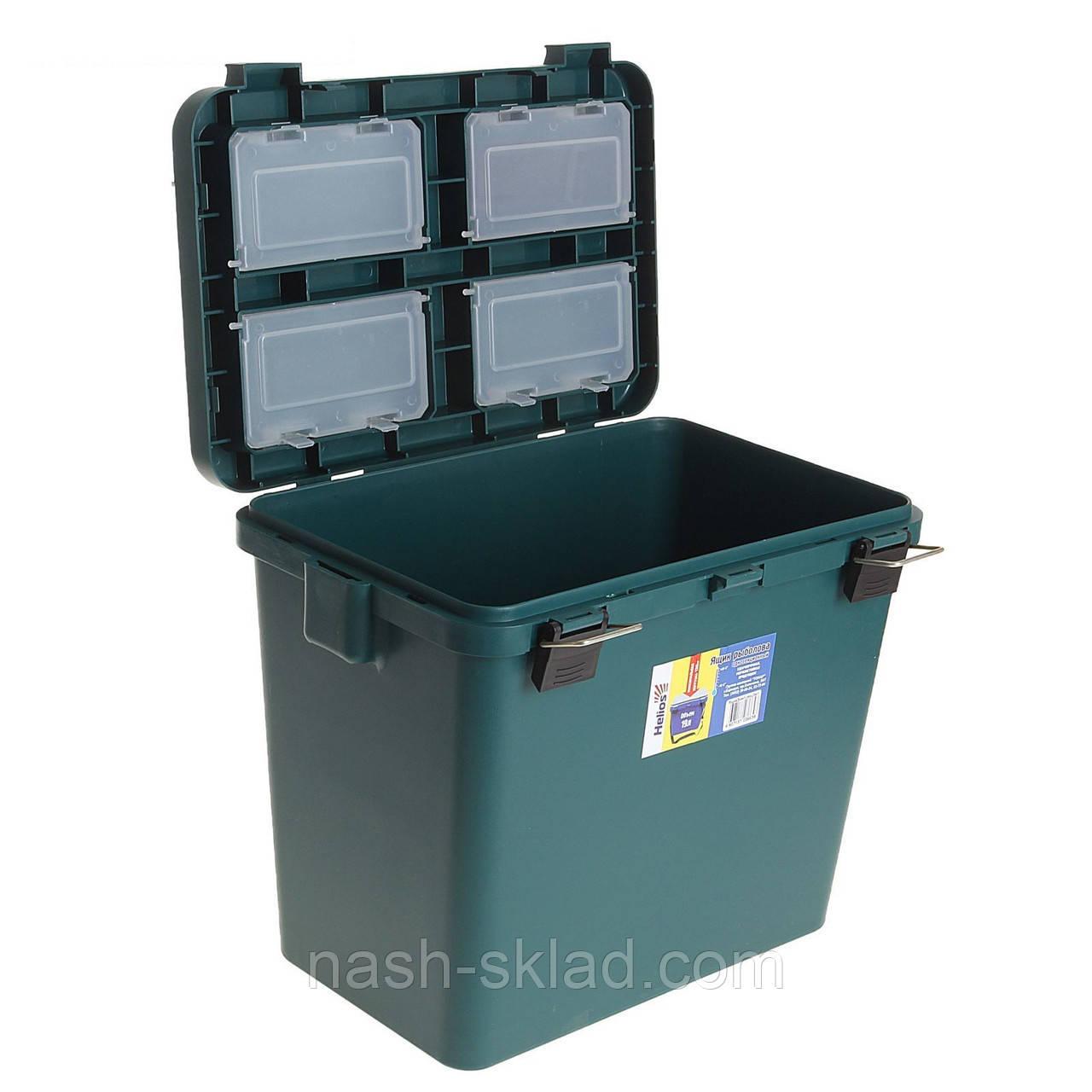 Ящик для зимней рыбалки Тонар односекционный, ОРИГИНАЛ, ПОДАРОК РЫБАКУ, в наличии 3 цвета