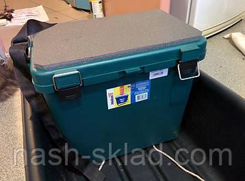 Ящик для зимней рыбалки Тонар односекционный, ОРИГИНАЛ, ПОДАРОК РЫБАКУ, в наличии 3 цвета, фото 2