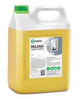 GRASS Жидкое крем мыло Milana «Молоко и мед» 5 кг