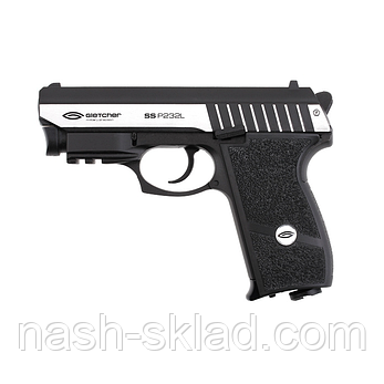 Пистолет пневматический Gletcher SS P232L, фото 2