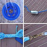 КАСТИНГОВАЯ РЫБОЛОВНАЯ СЕТЬ FINDFISH 3 М Кластерная сеть Findfish, фото 4