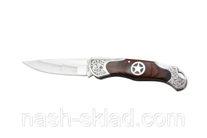 Складной нож Ворон, подарок для активного туриста, фото 2