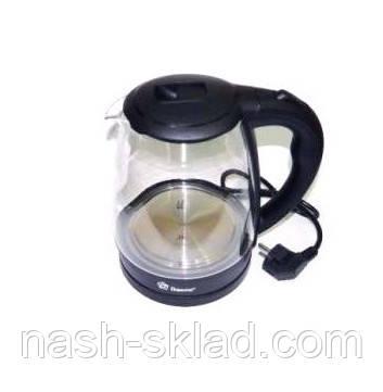 Электрический чайник Domotec DT стекло, фото 2