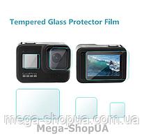 Защитные стекла для GoPro Hero 8 Black WE43F. Защитное стекло для GoPro Hero 8 Black. Захисне скло для GoPro 8
