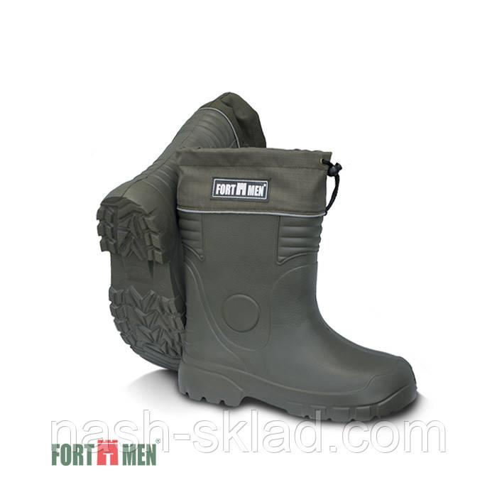 """Чоботи для зимової риболовлі ЕВА FortMen """"Єрмак"""" укорочені -75*З"""