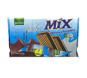 Вафлі GULLON MIX Nata-Chocolate шоколад, 180г, 12шт/ящ