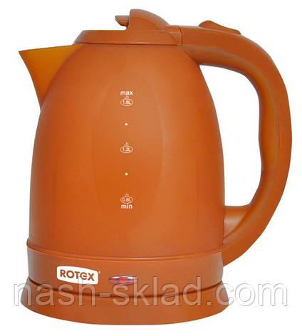 Чайник электрический Rotex RKT18-B, фото 2