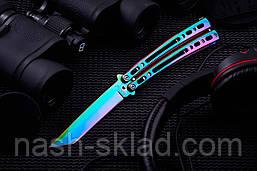 """Нож балисонг с клинком типа """"американский танто"""", фото 3"""