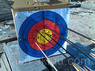 Стрела карбон микс 82 см, для классических и блочных луков, фото 3