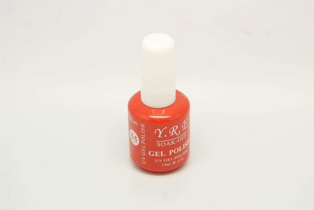 Гель - лак YRE GL-01-55 Коралловый