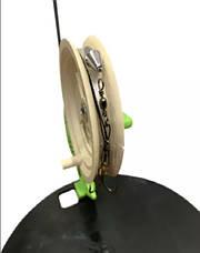 """Набор жерлиц (10 штук) """"Щука"""" с тормозом - ОСНАЩЕННЫЕ  в камуфляжной сумке, фото 3"""