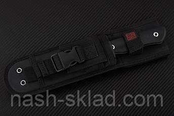 Нож нескладной  Real Steel Bushcraft Plus Scandi  весьма внушительный походный нож, фото 2
