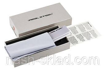 Нож нескладной  Real Steel Bushcraft Plus Scandi  весьма внушительный походный нож, фото 3