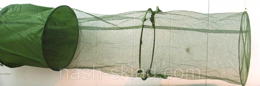 Садок рыболовный Fish, длинна 2,4 метра, идеально подойдет для большого улова