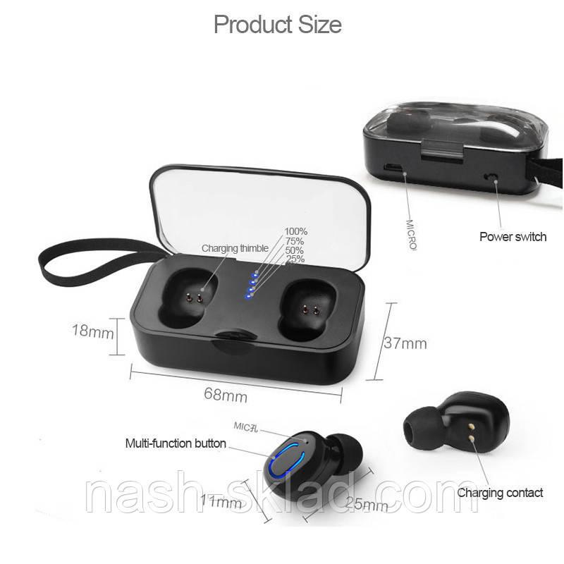 Беспроводные наушники Air Twins T18s Bluetooth