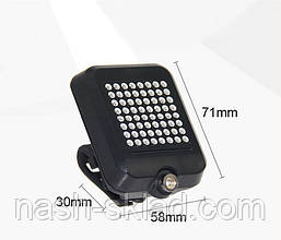 Задний фонарь с поворотником и лазерной разметкой, фото 2