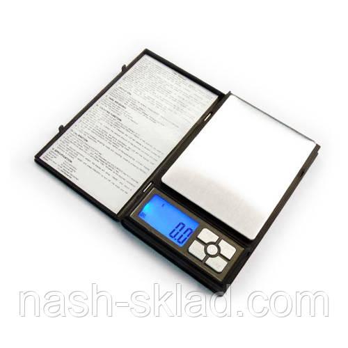 Ювелирные весы max вес 2кг (погрешность 0,1г)