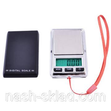 Ювелирные весы MINI  max вес 0,5 кг (погрешность 0,1г), фото 2