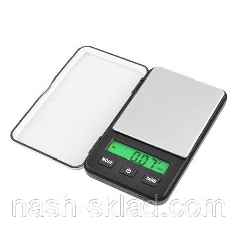 Ювелирные весы карманные  max вес 0,2 кг (погрешность 0,1г), фото 2