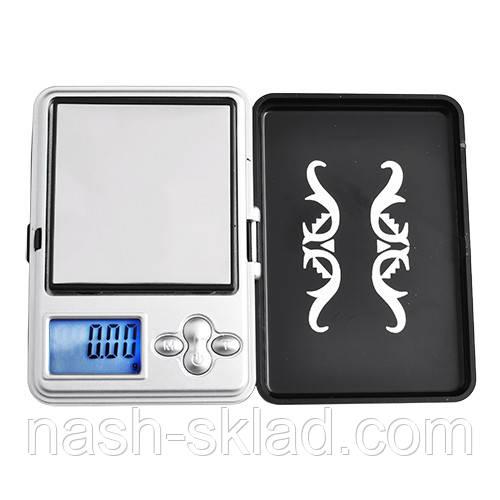 Ювелирные весы MINI, max вес 200 г (погрешность 0,1г)