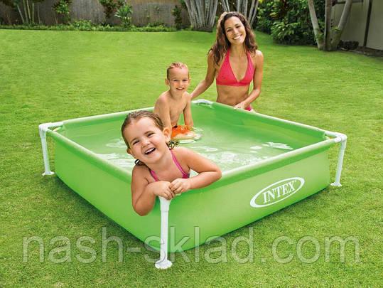 Каркасный бассейн детский Mini Frame Pool, фото 2