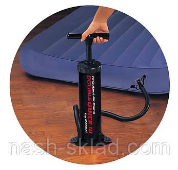 Насос ручной Intex, для всех надувных изделий, фото 2