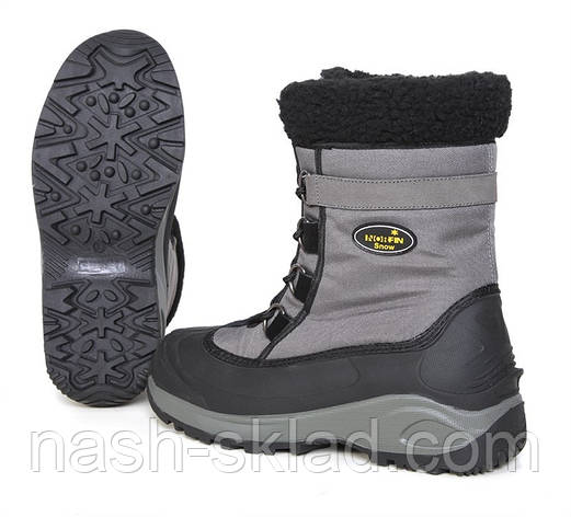 Зимние ботинки Norfin Snow Gray, фото 2