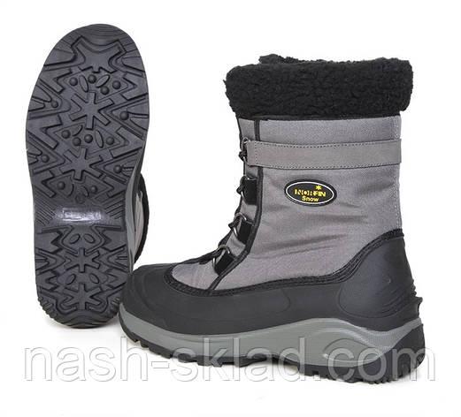 Зимові черевики Norfin Snow Gray, фото 2