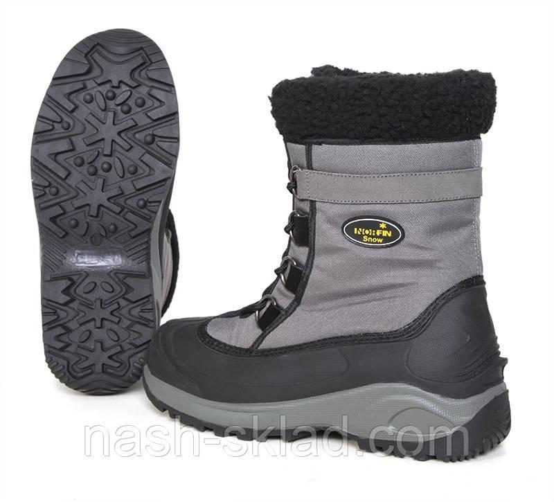 Зимові черевики Norfin Snow Gray