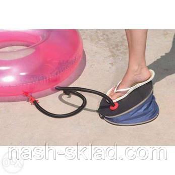 Насос ножной Intex, для матрасов, диванов, кругов и др. надувных изделий, фото 2