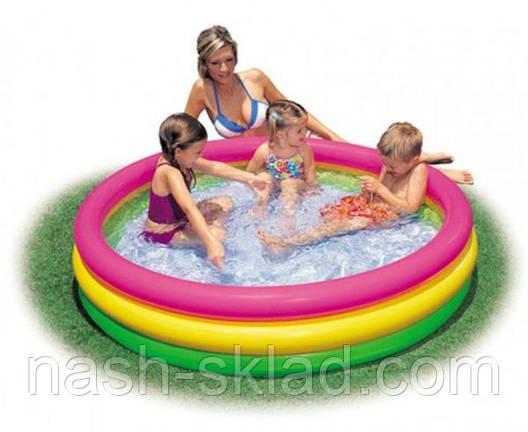 Надувной бассейн Intex детский , фото 2