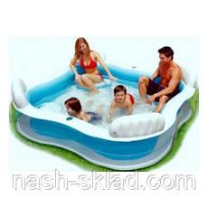 Семейный надувной бассейн в дом Intex, фото 3