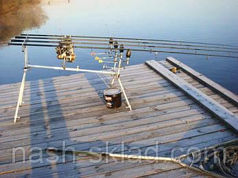 Подставка Rod Pod Corona триногий на 6 удилищ, отличный подарок для мужчины , фото 2