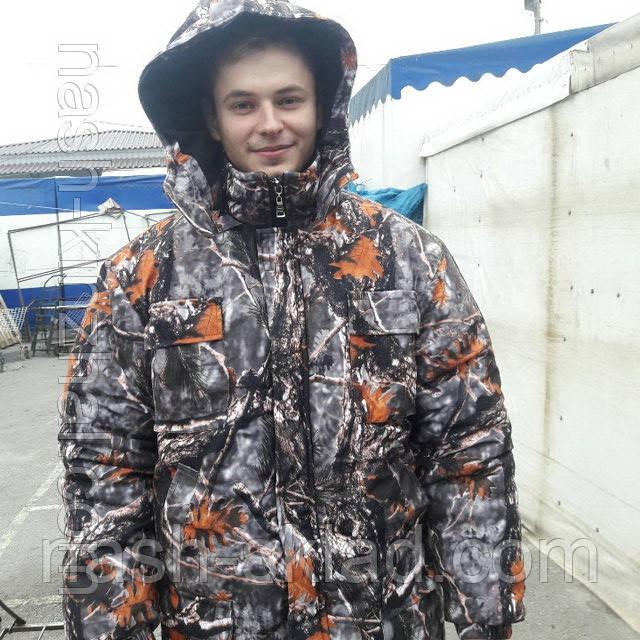 Рыбацкий зимний костюм Лес