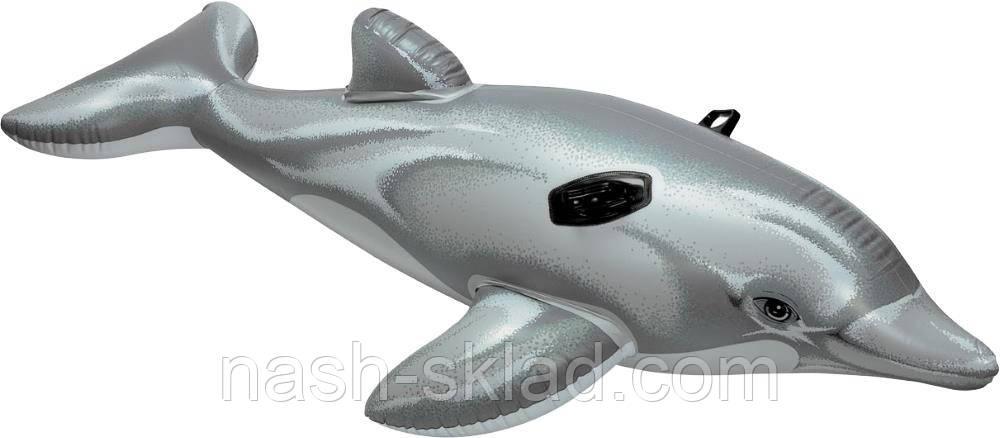 Дитячий надувний пліт Intex Дельфін